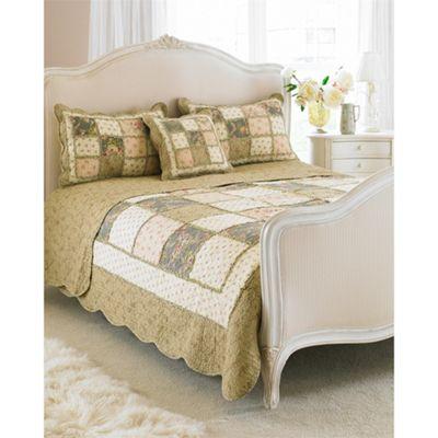 Riva Home Avignon Beige Bedspread - Single
