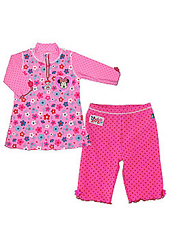 Disney Minnie Mouse UV Shirt and Shorts 3 to 4 Years