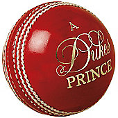 "Dukes Cricket Prince ""A"" Mens 156g (5.5oz) Cricket Match Ball"