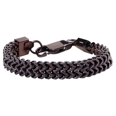 Canons Copper Finish Men's Modern Design Bracelet