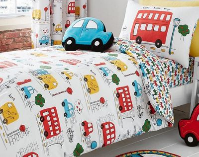 Catherine Lansfield Kids Transport Duvet Cover Set - Small Single - Toddler