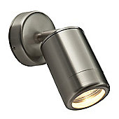 Odyssey Adjustable Wall Spotlight 35W Brushed Stainless Steel