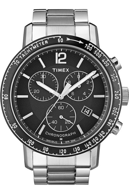 Timex Gents Chronograph Bracelet Watch T2N563