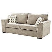 Boston Large 3 Seater Sofa, Taupe