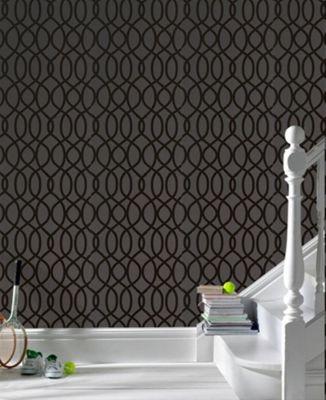 Graham & Brown Knightsbridge Wallpaper - Black