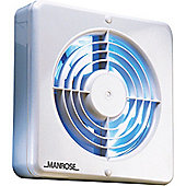 Manrose 150mm (6) Axial Extractor Fan with Pullcord Switch