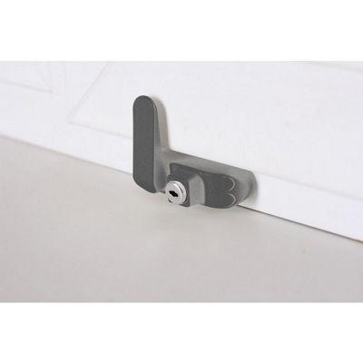BSL Sash Window Restrictor with Key - Silver