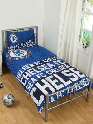 Chelsea FC Impact Single Duvet Cover Set