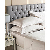 Riva Home Egyptian 400 Thread Count Fitted Sheet - Beige