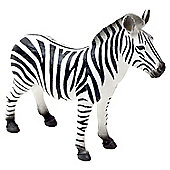 Realistic Zebra Figurine Toy by Animal Planet