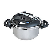 Tower 4L One Touch Pressure Cooker- Chrome