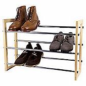 Pristine Extendable 3-tier Shoe Rack