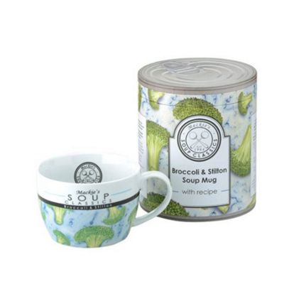 The DRH Collection Mackie's Broccoli & Stilton Soup Mug