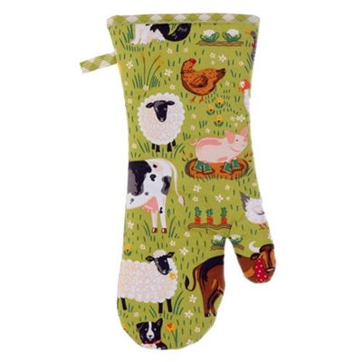 Ulster Weavers Jennies Farm Animals Design Oven Gauntlet Glove 7JFM02