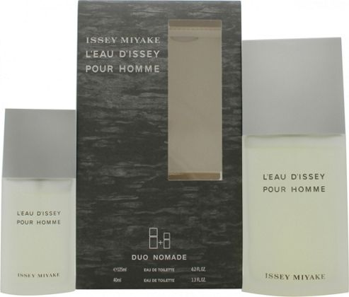 Issey Miyake L'Eau d'Issey Pour Homme Gift Set 125ml EDT + 40ml EDT For Men