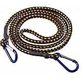 Heavy Duty Bungee Cord / Luggage Strap with Carabiner Hooks - 1800mm x 8mm
