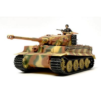 Tamiya 32575 Tiger I Tank Late 1:48 Military Model Kit