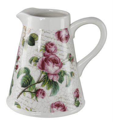 Rose Garden Jug Vase