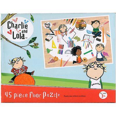 Charlie and Lola 45 Piece Medium Floor Jigsaw Puzzle