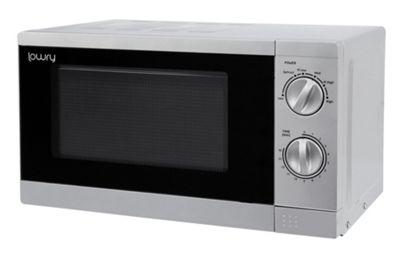 Lowry Silver 17 Litre Manual Microwave (700W) - LMM1725S