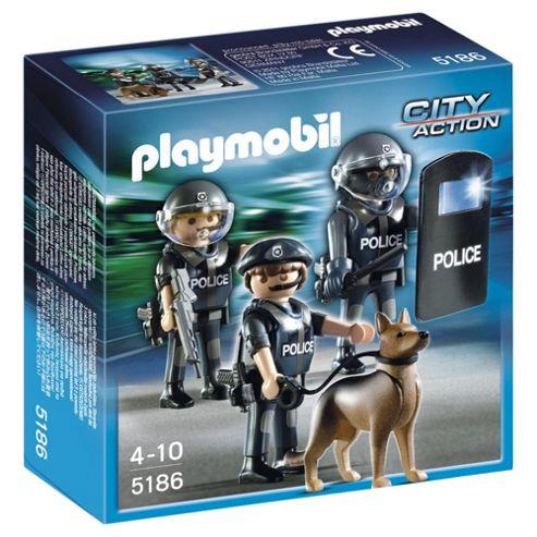 Playmobil Police Figure 5186
