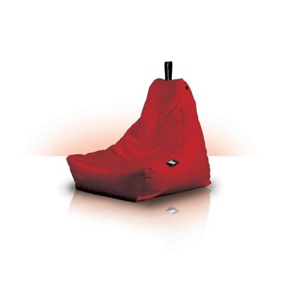 Beanbagcrazy Mini B Bag Red Faux Leather