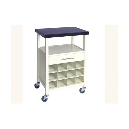 Ethos Live Caymen Kitchen Trolley in Cream with Granite Top