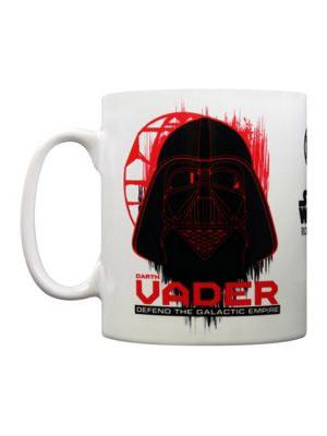 Star Wars Rogue One Darth Vader White 10oz Ceramic Mug