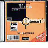 Q-Connect CD/R 80 min 700 MB Slim Jewel Pack of 10