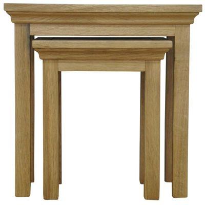 Ultimum Moorview Oak Nest of Two Tables