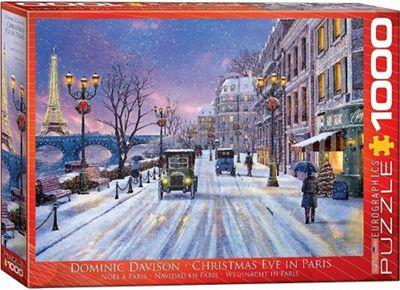 Christmas Eve in Paris - 1000pc Puzzle