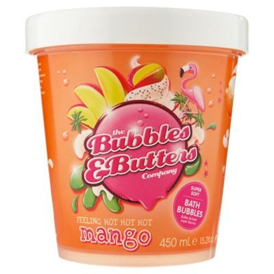 The Bubbles & Butters Company – Feeling hot hot hot Mango – super soft bath bubbles