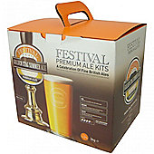 Festival 40 Pint Home Brew Beer Kit - Golden Stag Ale