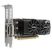 MSI GeForce GTX 1050Ti 4GT LP Low Profile 4GB Graphics Card