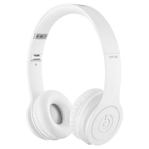 Beats By Dr Dre Solo HD on-ear headphones, Monochromatic White