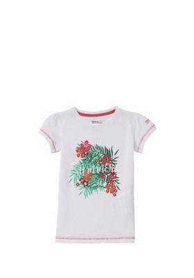 Regatta Bosley Graphic T-Shirt White 11-12 years