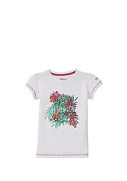 Regatta Bosley Graphic T-Shirt - White