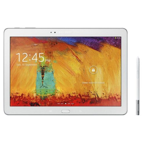 """Samsung Galaxy Note, 10.1"""" Tablet, 16GB, WiFi – White"""