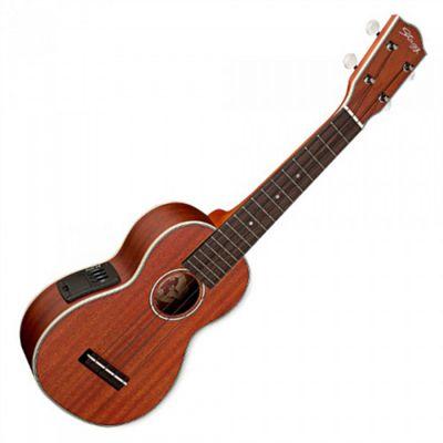 Electro-Acoustic Soprano Ukulele - Mahogany