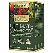 Natures Aid Ultimate Organic Superfoods - 60 Capsules