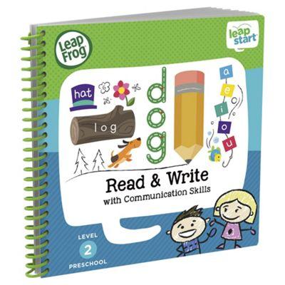 LeapFrog LeapStart Preschool: Level 2 Read & Write Activity Book