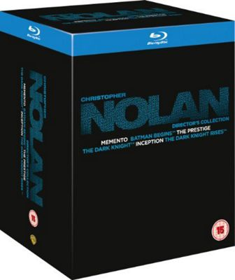 Christopher Nolan Collection (Blu-Ray Boxset)