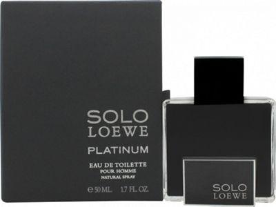 Loewe Solo Loewe Platinum Eau de Toilette (EDT) 50ml Spray For Men