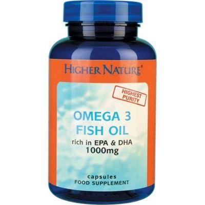 Higher Nature Omega 3 Fish Oil 1000mg 30 Gel Capsules