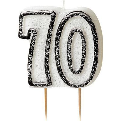Buy 70th Birthday Candle from our All Party Decorations range Tesco