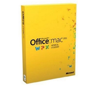 Microsoft Mac Home and Student Edition Office