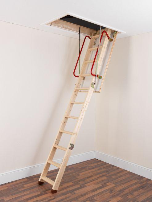 TB Davies EnviroFold Timber Folding Loft Ladder