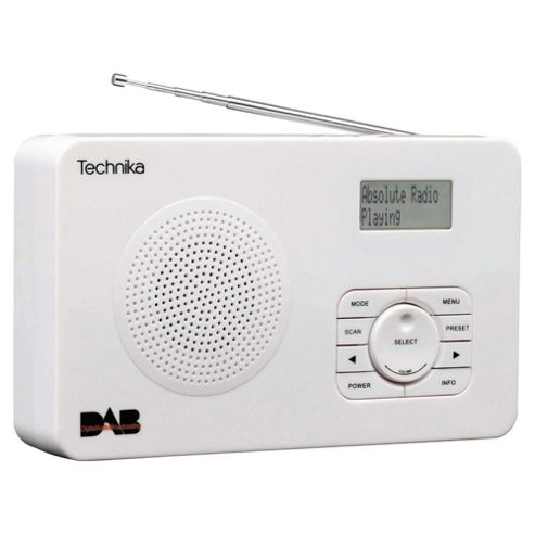 Technika DR1301W DAB Radio