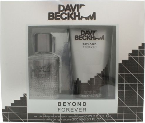 David & Victoria Beckham Beyond Forever Gift Set 60ml EDT + 200ml Shower Gel For Men