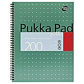 Pukka Pad A4 Jotta Metallic Writing Pad 80gsm 3 Pack